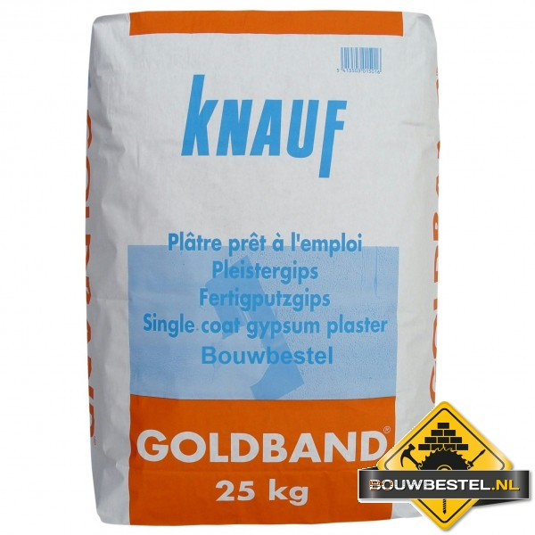 knauf goudband goldband gips gipspleister 25kg bouwbestel. Black Bedroom Furniture Sets. Home Design Ideas