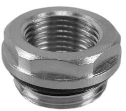Riko Radiator reduceerplug 1/2x3/4 met O-ring