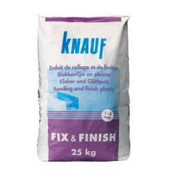 Knauf Fix & Finish Gipsmortel (25kg)