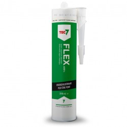 Tec7 Flex 7 sanitair wit RAL9001 patroon 310 ml