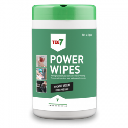 Tec7 Powerwipes - 50 doekjes