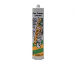 Zwaluw windowseal beglazingskit plus wit kkr 310ml